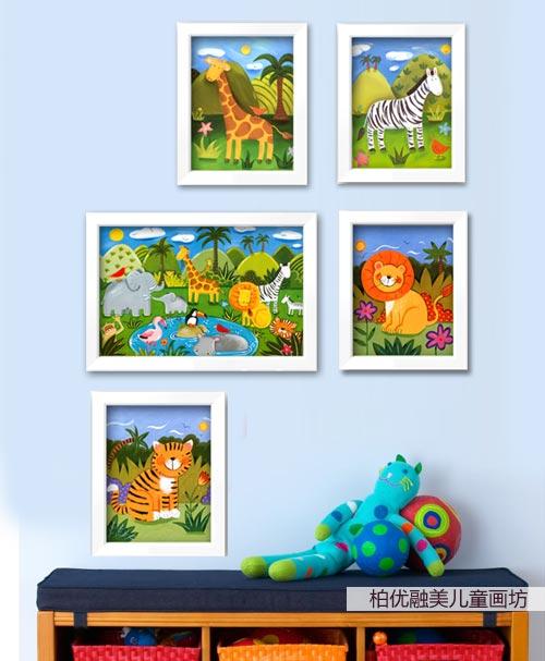动物之家简笔画_动物之家图片欣赏