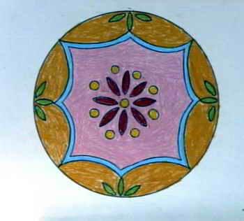 装饰画-圆盘