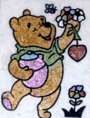 小熊维尼简笔画 小熊维尼图片欣赏 小熊维尼儿童画画作品