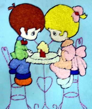 水滴娃娃简笔画_水滴娃娃图片欣赏_水滴娃娃儿童画画