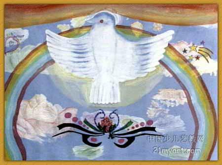 《和平》简笔画_《和平》图片欣赏