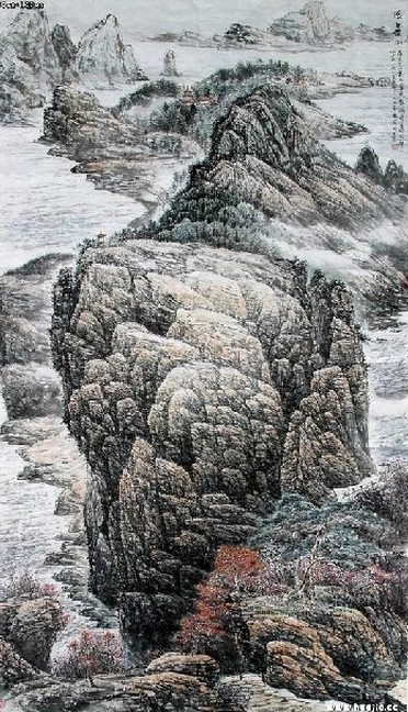 高山简笔画 高山图片欣赏 高山儿童画画作品