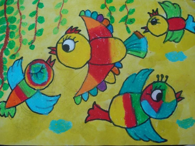飞翔的鸽子简笔画_飞翔的鸽子