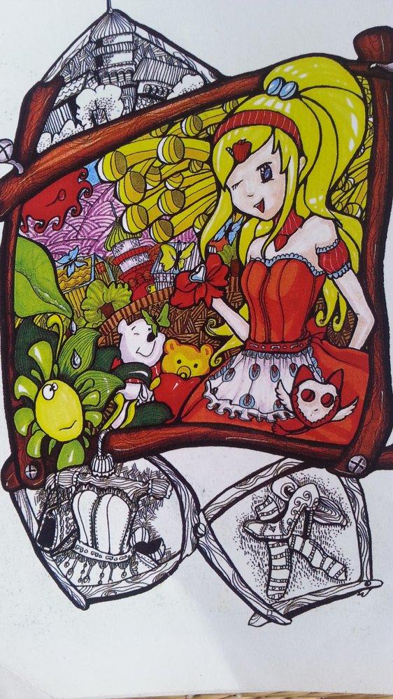 快乐的小女孩简笔画_快乐的小女孩图片欣赏