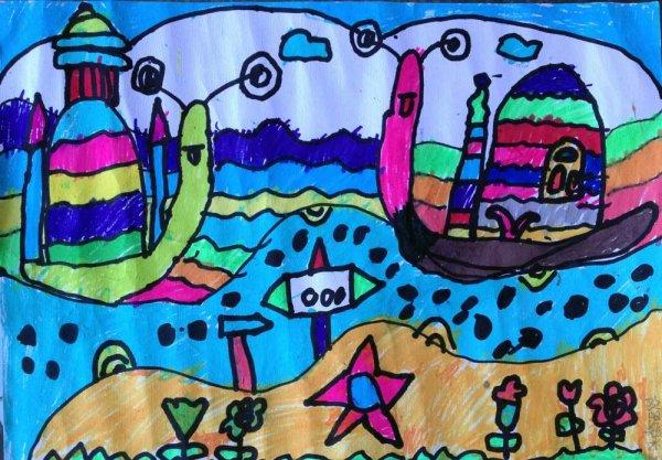 度假简笔画_度假图片欣赏_度假儿童画画作品-有伴网