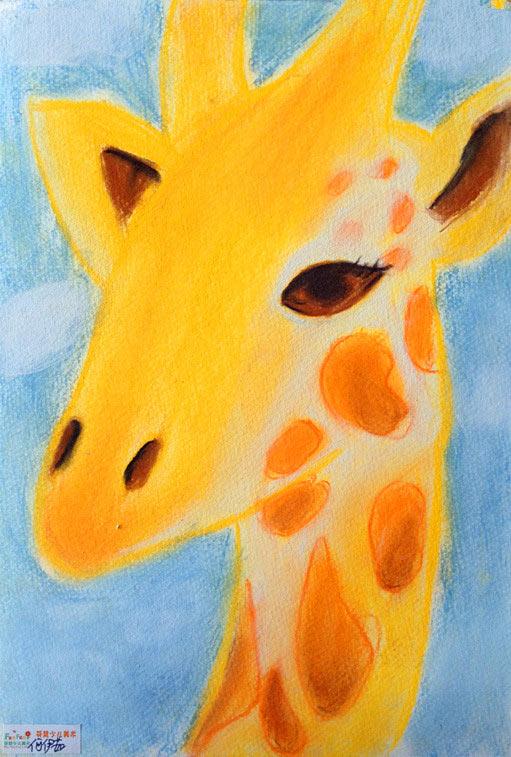 长颈鹿简笔画_长颈鹿图片欣赏