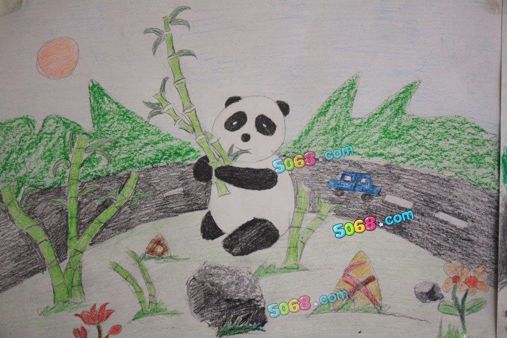 动物园图画简笔画图片 清明节图画简笔画 简笔画秋天的图画图片
