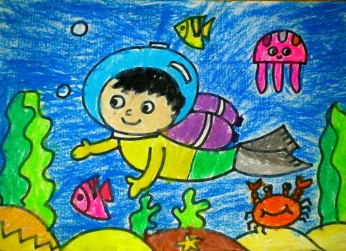 海底世界儿童简笔画 第19张
