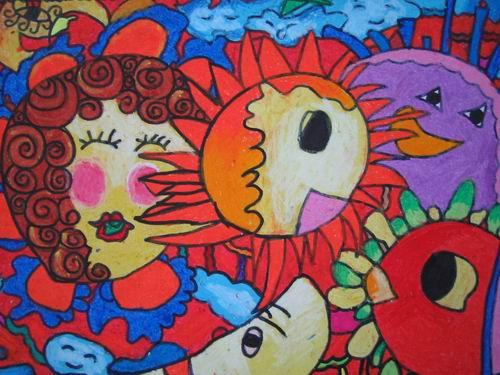 阳光的快乐生活简笔画 阳光的快乐生活图片欣赏 阳光的快乐生活儿童