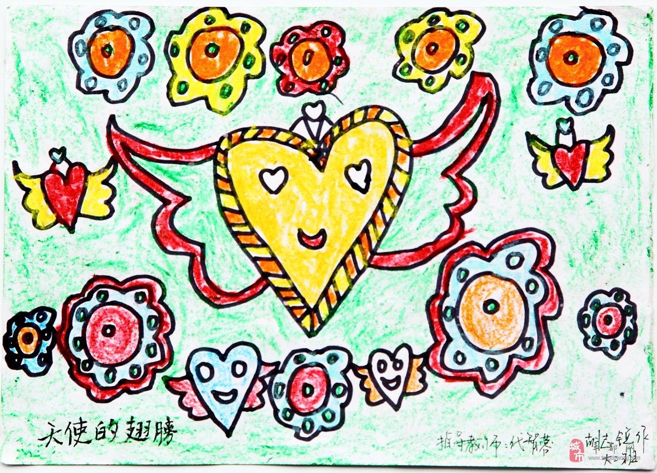 天使翅膀素描图片_天使的翅膀简笔画_天使的翅膀图片欣赏_天使的翅膀儿童画画作品 ...