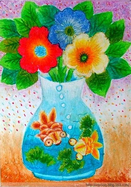 花瓶与花朵简笔画_花瓶与花朵图片欣赏-花朵美甲 美甲画花图片
