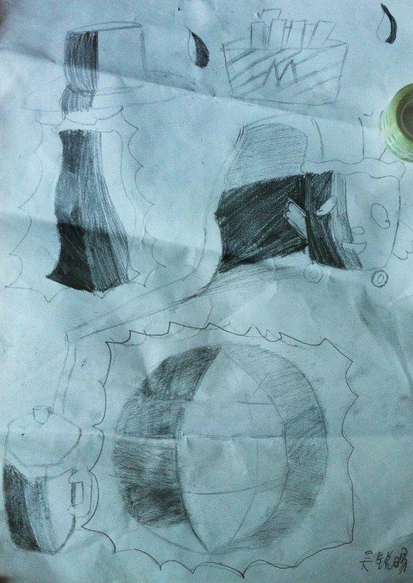 奇幻世界简笔画 奇幻世界图片欣赏 奇幻世界儿童画画作品