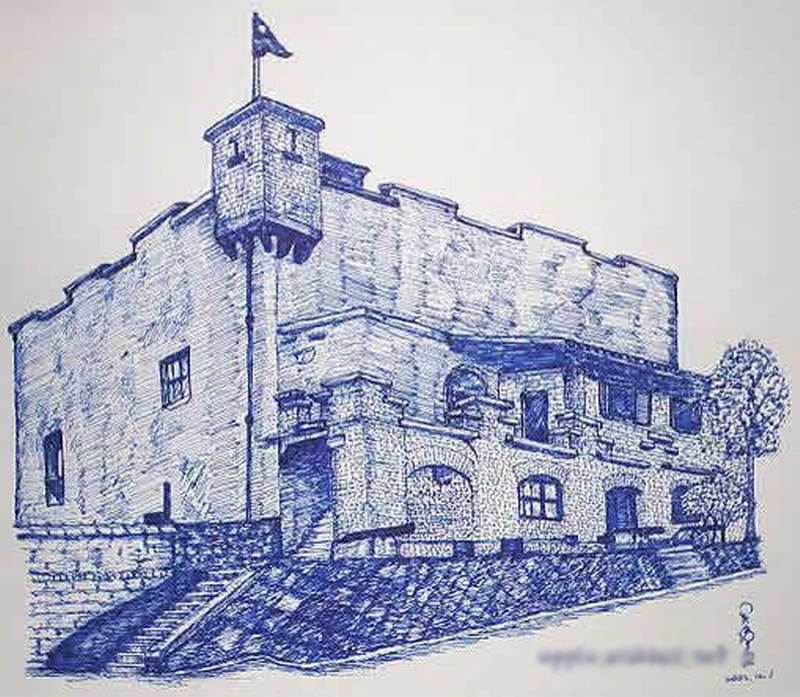 铅笔画之美丽的城堡 -美丽的城堡简笔画 美丽的城堡图片欣赏 美丽的城