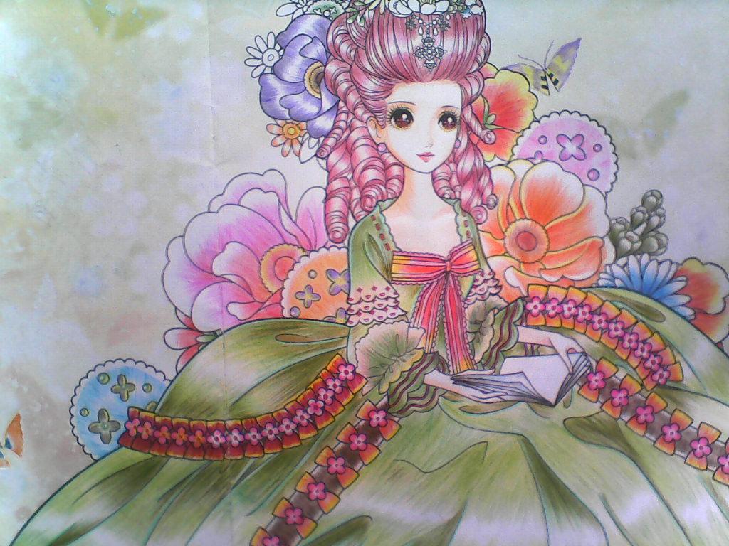 铅笔画之漂亮的公主殿下 -漂亮的公主殿下简笔画 漂亮的公主殿下图片