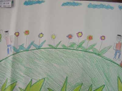 美好时光简笔画 美好时光图片欣赏 美好时光儿童画画作品