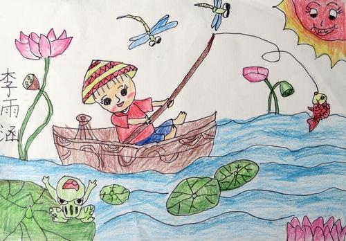 小学一年级中国梦画画