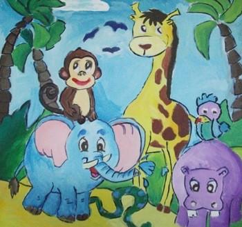 春天里的小动物简笔画 春天里的小动物图片欣赏 春天里的小动物儿童
