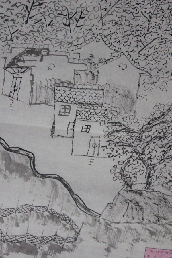 铅笔画之国画山水 -国画山水简笔画 国画山水图片欣赏 国画山水儿童画