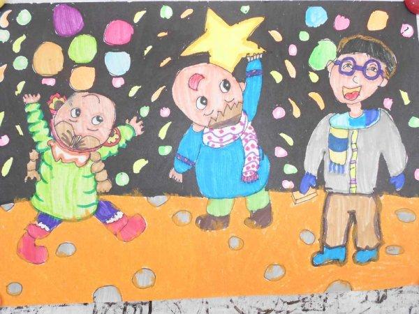 足球小将蚂蚁简笔画 足球小将蚂蚁图片欣赏 足球小将蚂蚁儿童画画作品