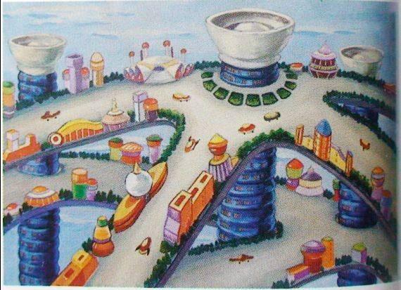 未来地球村简笔画_未来地球村图片欣赏-锦鲤月圆简笔画 锦鲤月圆图片