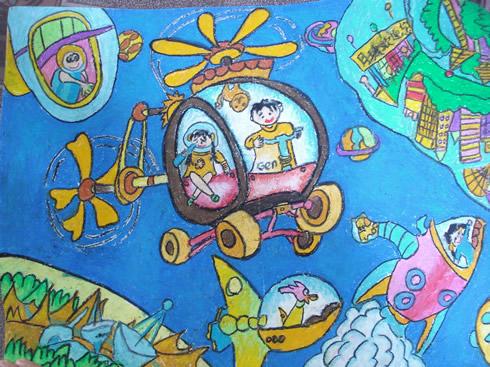 环游宇宙简笔画_环游宇宙图片欣赏_环游宇宙儿童画画